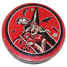 Halloween Ratchet Noise Maker US Metal Toy Mfg Co