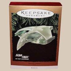 Hallmark The Next Generation Romulan Warbird 1995