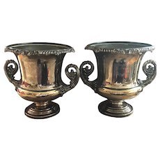 Pair of Early Sheffield Plate Wine Coolers - Circa 1830