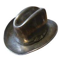 Stetson Hat Table Match Striker and Match Box