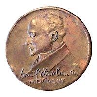 Actors Fund of America 1926 Medal - David Froelina President