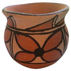Pueblo Pottery Santo Domingo Polychromed Pottery Jar by Alvina Garcia