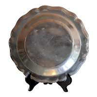 Early Spanish Colonial Silver Plate - Late 18th Century to Early 19th Century