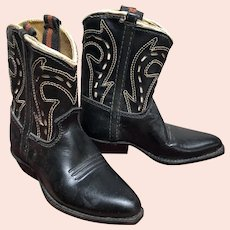 Cutest Little Neolite Cowboy Boots - Never Used circa 1950's / 60's