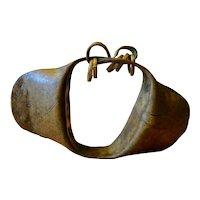 Antique African Yoruba Rattle Anklet - Nigeria