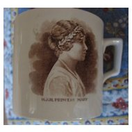 "British Royal Commemorative ""Princess Mary"" Mug"