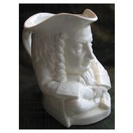 Yale Wedgwood Ceramic Toby Jug of Eli Yale, Yale University -  1933