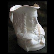Yale Wedgwood Ceramic Toby Jug of Eli Yale, Yale University -  1933