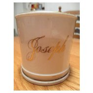 Child's Antique Mug with Joseph - Porcelain
