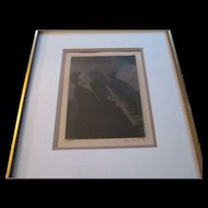 Doris Ulmann Signed Photograph / Platinum Print of John Jacob Niles
