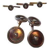 Vintage Larter and Sons Cufflinks and Shirt Studs Set -1930's