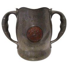 Arts & Crafts 1904 Tennis Trophy - Kebo Valley Club - Bar Harbor, Maine