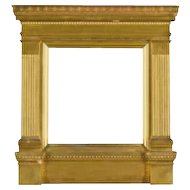"Original Sir Lawrence Alma-Tadema Tabernacle Frame Designed by the Artist for the Painting ""Golden Hour"""