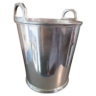 Wine Cooler / Champagne Bucket - Mid Century - Silver Plated -  Arthur Price & Co of England