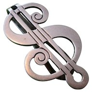 "R. Blackington & Co. ""Dollar Sign"" Money Clip - Sterling Silver"