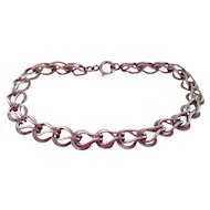 1960's  14K Gold Charm Bracelet  - Nice!
