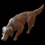"Vienna Bronze Cold Painted Setter - 3 1/2"" of Sweet Dog !"