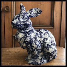 Large Calico Bunny Rabbit - Just in Time!