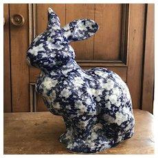 Large Calico Bunny Rabbit - Nice Anytime!