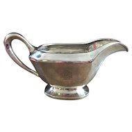 Quality Sterling Silver Gravy Boat - By Graff, Washbourne & Dunn of New York