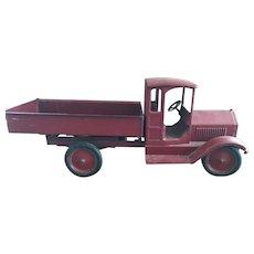 Large Pressed Steel Keystone Dump Truck -  1930's
