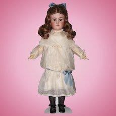 "HUGE SALE Large 28+"" Heinrich Handwerck Simon & Halbig Antique Bisque Head German Doll. Display Ready. Lovely!"