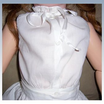 "HUGE SALE Gorgeous Antique Doll Chemise Underwear Fits 28"" to 30"" French or German Lg Dolls."