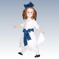 "26"" CM Bergmann Simon Halbig Antique German Bisque Head Doll. Mold 1916. Display Ready."