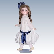 "28"" Antique Doll German Bisque Head by Armand Marseille DRGM 246/1 390 Display Ready"
