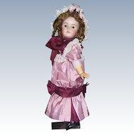 "24"" Heinrich Handwerck Antique German Doll. Bisque head by Simon & Halbig. Display Ready."