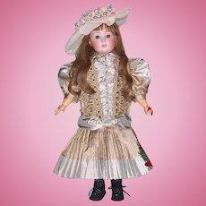 "24"" Schoenau Hoffmeister Antique German Bisque Head Doll. Display Ready. Very Cute"