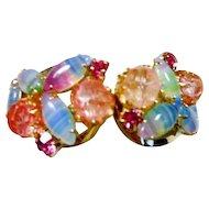 Vintage Juliana Clamper Bracelet