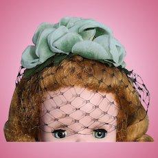 Made for Madame Alexander Cissy Doll Hat & Veil