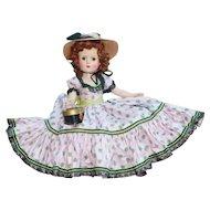 Madame Alexander Vintage 1953 Glamour Girl Picnic Day - LWD $$!!