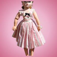 Madame Alexander Cissy Day Dress 1955 - Tagged