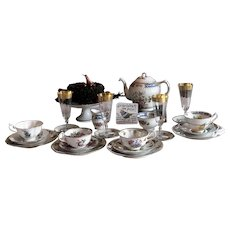 Fine Bone China Miss Matched Tea Set