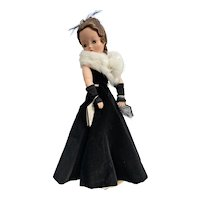 Madame Alexander Vintage Cissy Doll - Tagged Gown!