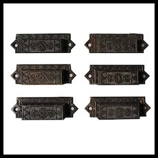Eastlake Bin Pulls, Antique Hardware
