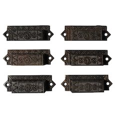 Eastlake Bin Pulls, Antique Hardware