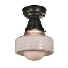 Art Deco Flush Mount Light, Antique Lighting