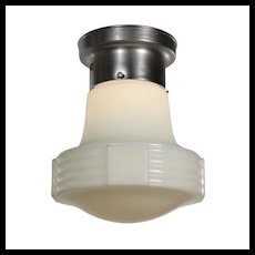 Art Deco Flush Mount Light, Antique Lighting