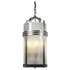 Antique Art Deco Four-Light Lantern