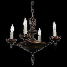 Antique Art Deco Chandelier