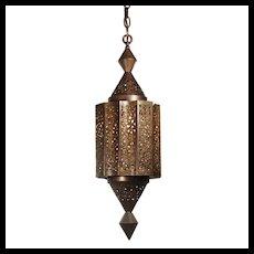 Moorish Revival Lantern, Vintage Lighting