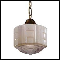 Antique Art Deco Pendant Light