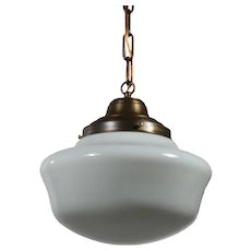 Schoolhouse Pendant Light, Antique Lighting