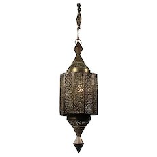 Moorish Revival Lantern, Vintage Lighting
