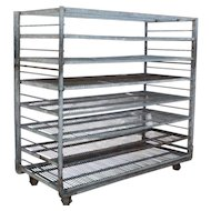 Reclaimed Industrial Shelving Units, Colonial Bread