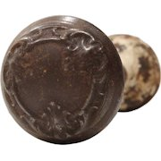 "Antique ""Locris"" Doorknob Sets by Reading Hardware, c. 1931"