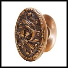 """Antique """"Arcadia"""" Doorknob Set by Barrows"""